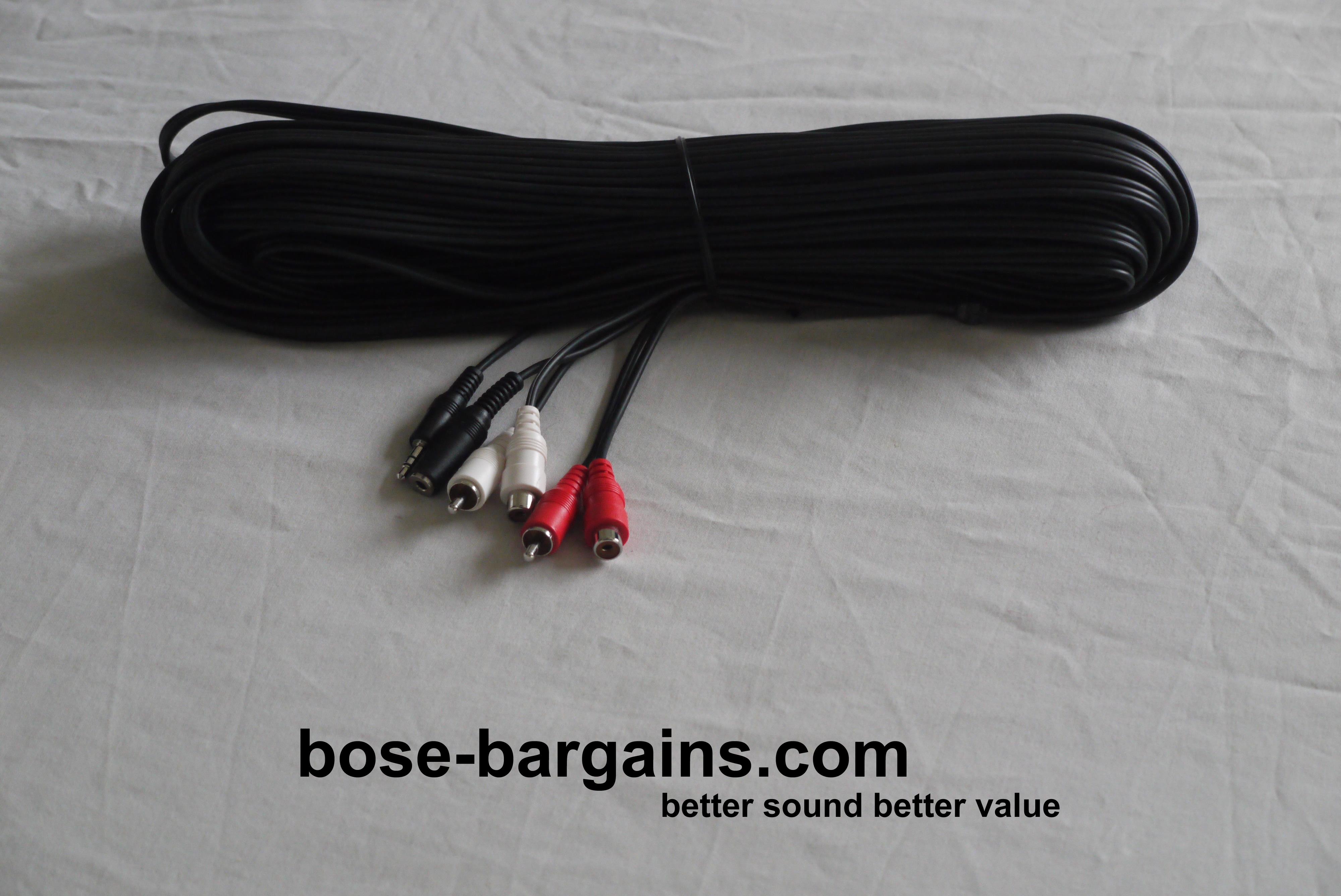 Bose Lifestyle Link Cable Extension - bose-bargains.comBose Bargains