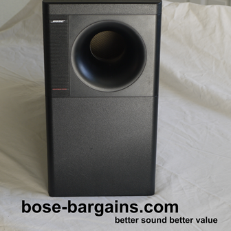bose black lifestyle acoustimass 9 powered 5 1 bose. Black Bedroom Furniture Sets. Home Design Ideas